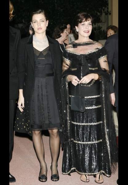 Lors des Nijinski Awards, la beauté des deux femmes se répond