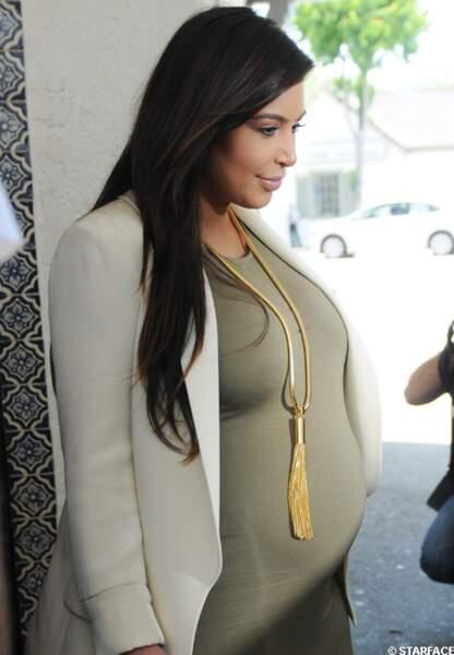 Kim Kardashian a donné naissance à North le 15 juin