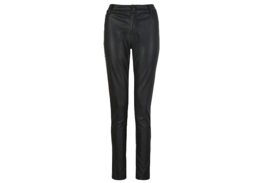 New Look – Legging imitation cuir – 29,99€