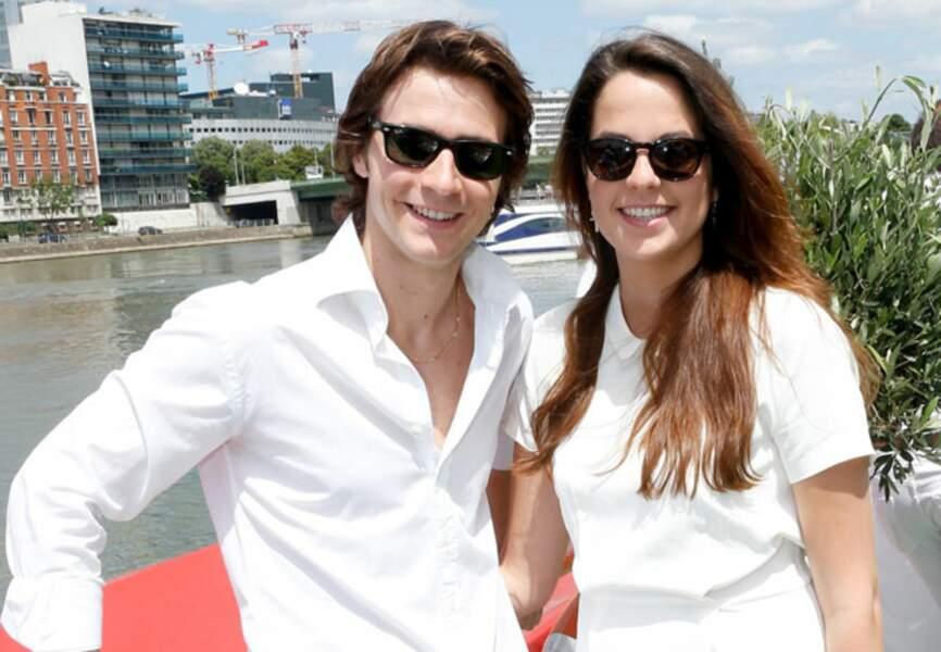 La comédienne Anouchka Delon et son compagnon Julien Dereins