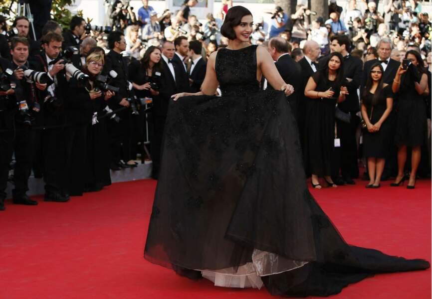 Sonam Kapoor en Elie Saab Couture