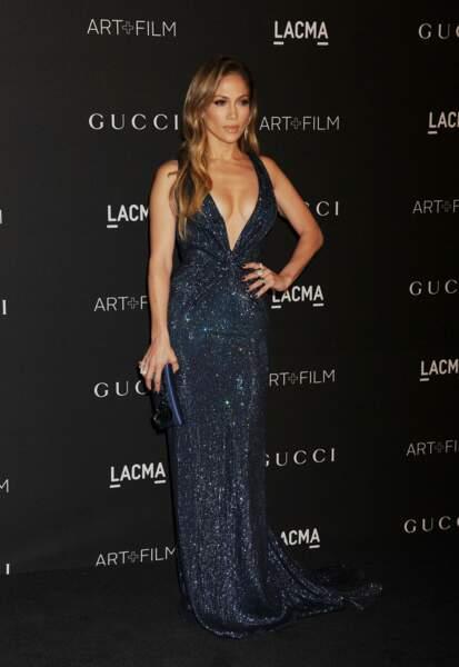 Jennifer Lopez en Gucci Première