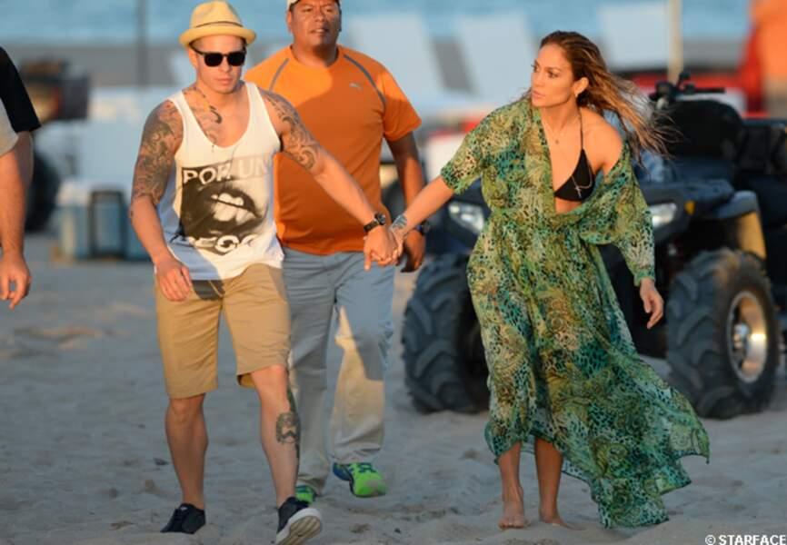 Casper Smart et Jennifer Lopez sont inséparables