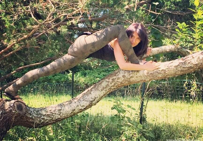 Hilaria, le yoga à l'état sauvage