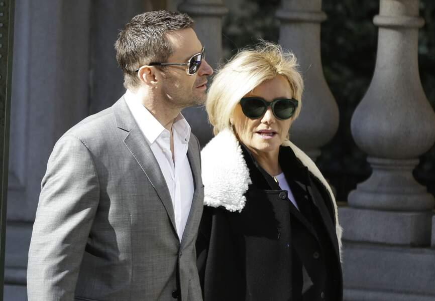Hugh Jackman et son épouse