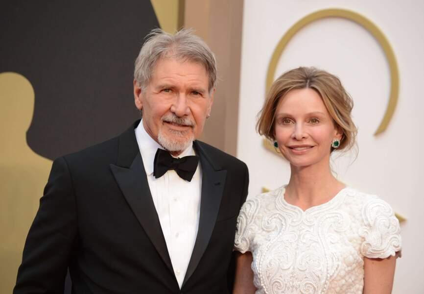 Harrison Ford, Indiana Jones et Han Solo réunis en une seule et même personne. Quelle chance a Calista Flockhart !