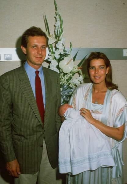 Naissance de Charlotte Casiraghi en août 1986
