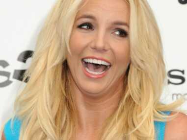 Britney Spears rayonnante à la première des Schtroumps 2, avec ses enfants