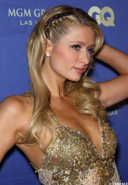 Paris Hilton précuseur en matière de tresse