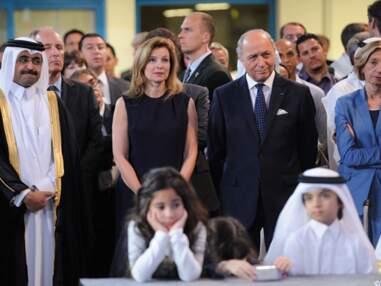 Valérie Trierweiler et François Hollande au Qatar