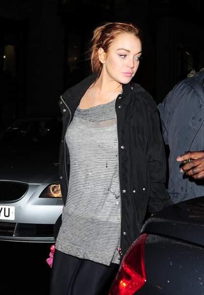 Lindsay Lohan à Londres