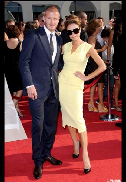 David et Victoria Beckham sous le soleil de Los Angeles