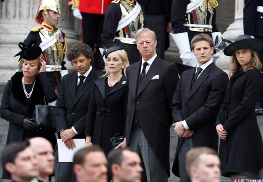 Les enfants et petits enfants de Margaret Thatcher