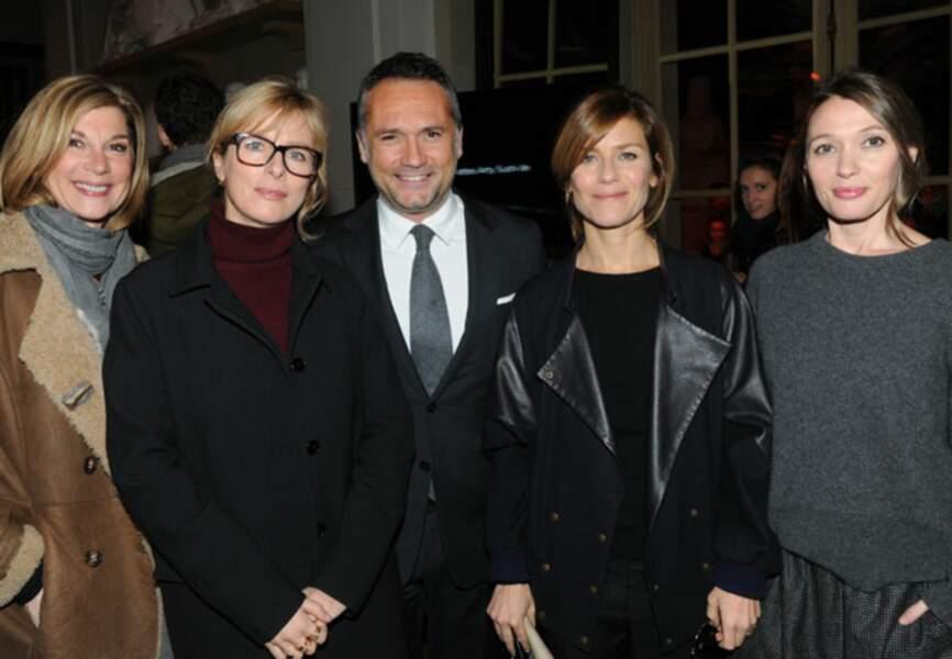 Michèle Laroque, Karine Viard, Gregory Marciano, Marina Fois et Anne Marivin