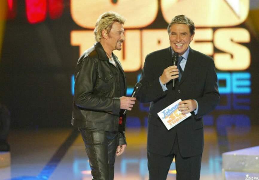 En octobre 2003, sur TF1 pour chanter ses trente plus grands tubes