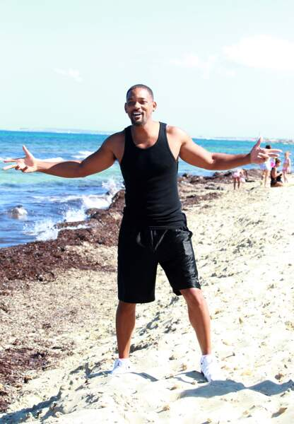 Will Smith a jeté son dévolu sur la plage d'Ibiza