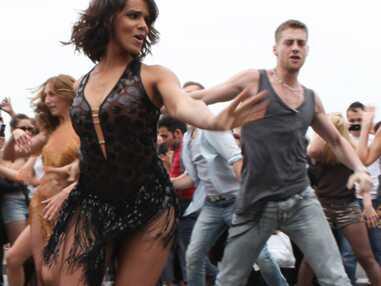 Shy'm et son flashmob au Sacré Coeur