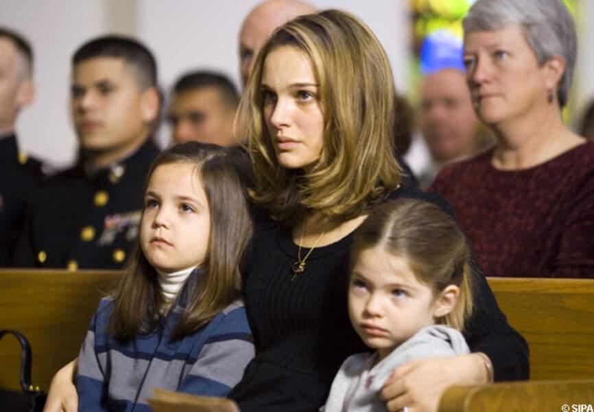 Natalie Portman, touchante, dans Brothers