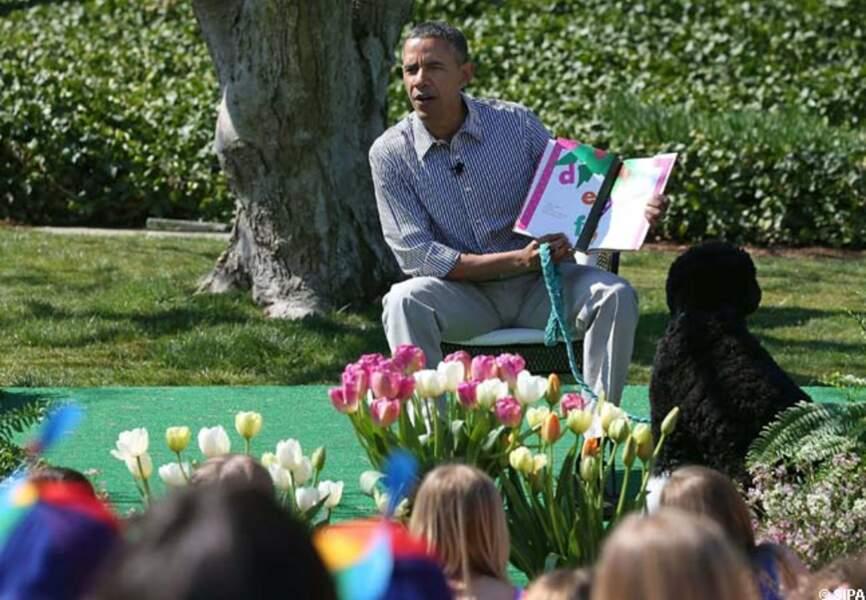 Barack Obama, président des enfants