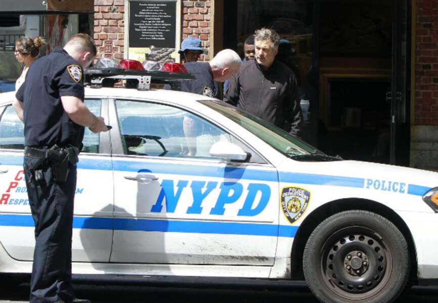 Alec Baldwin et les policiers de New-York