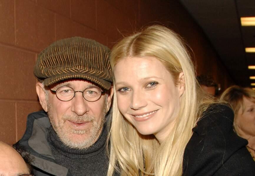 Steven Spielberg parrain de Gwyneth Paltrow