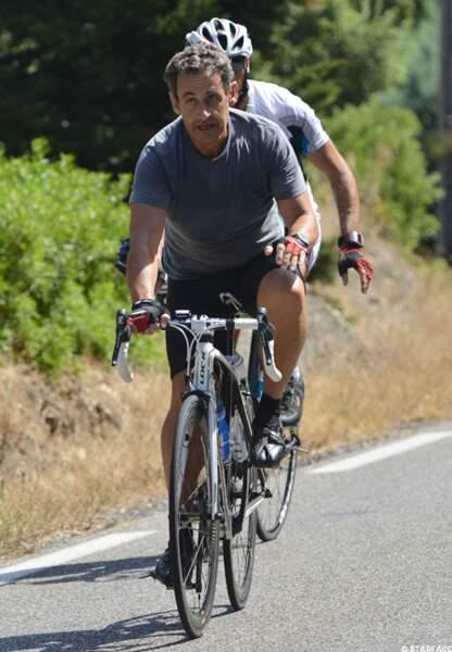 Sportif... Nicolas Sarkozy