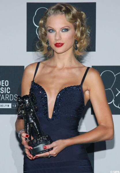 Taylor Swift récompensée