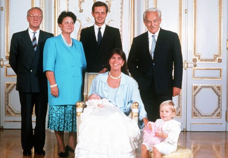 Baptême de Charlotte en septembre 1986