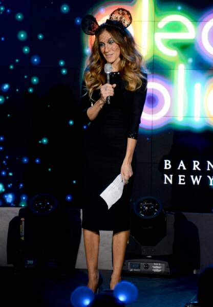Sarah Jessica Parker et sa petite robe noire en novembre 2012