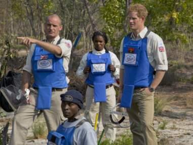 Harry lutte contre les mines anti-personnel en Angola