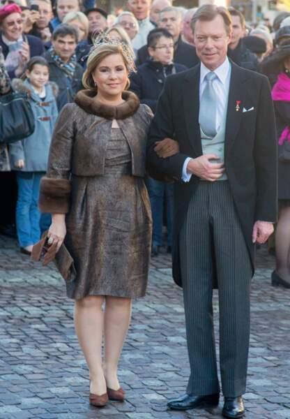Le Grand Duc Henri du Luxembourg et la Grande Duchesse Maria Teresa