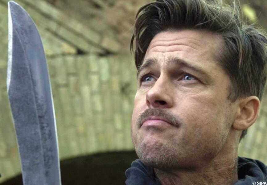 Brad Pitt dans Inglorious Basterds en 2009