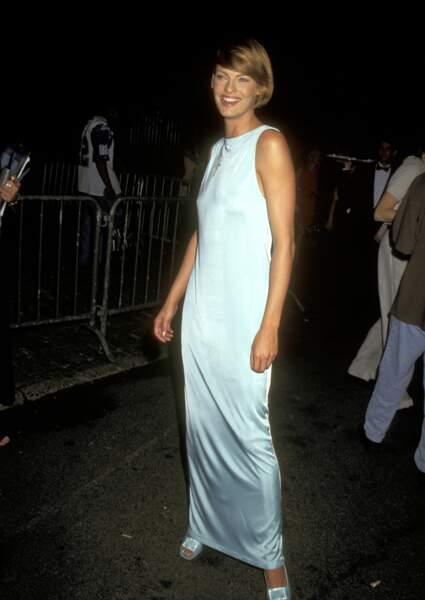 Linda Evangelista en 1996