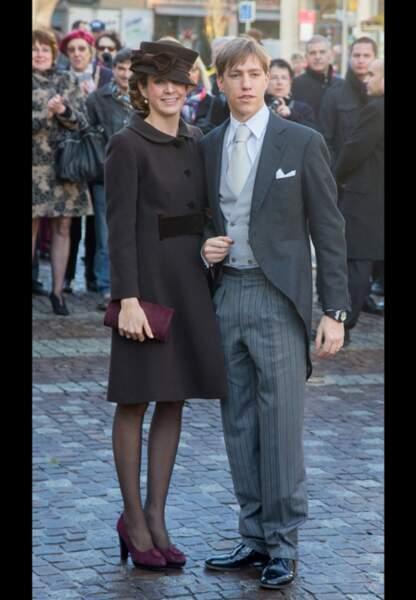 Le prince Louis du Luxembourg et son épouse la princesse Tessy