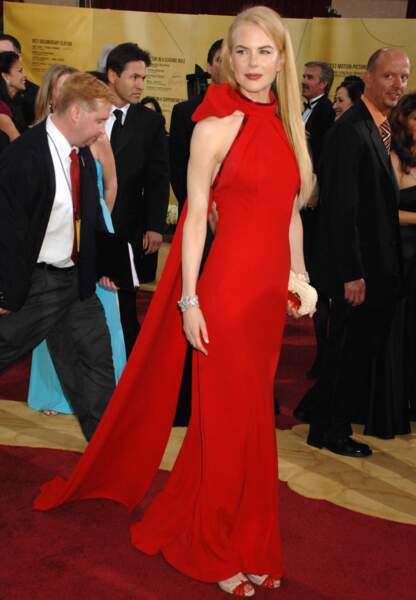 Nicole Kidman en Balenciaga aux Oscars en 2007
