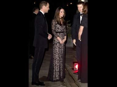 Photos - Kate Middleton recycle sa dentelle