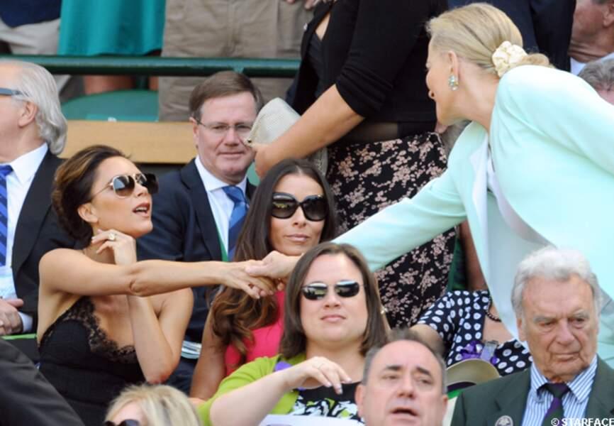 Victoria Beckham et la princesse de Kent