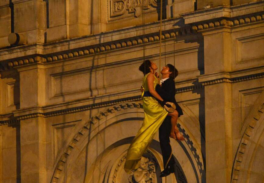 Tom Cruise et Rebecca Ferguson prennent de la hauteur à Vienne