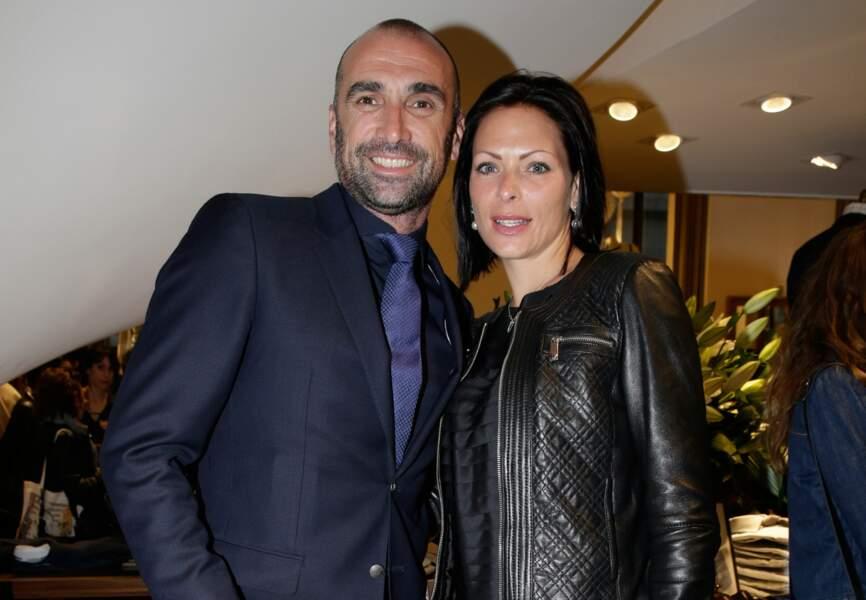 Jerôme Alonzo et sa compagne Jessica