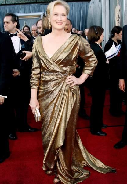 Meryl Streep en Lanvin aux Oscars en 2012