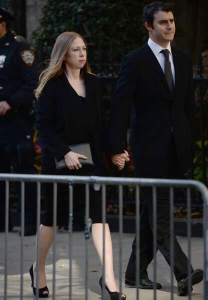 Chelsea Clinton et son mari