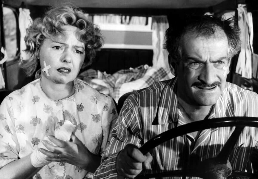 Taxi, Roulotte et Corrida d'André Hunnebelle (1958). Avec Paulette Dubost