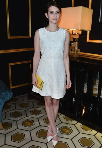 Emma Roberts chez H&M