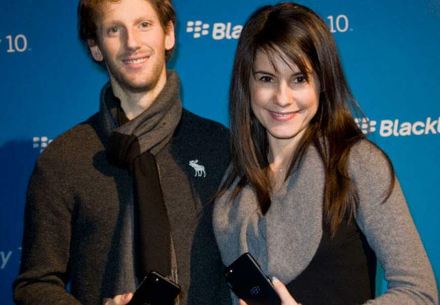 Juillet: Sacha a rendu ses parents, Marion Jollès et Romain Grosjean très heureux