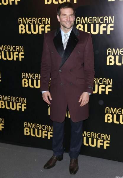 Bradley Cooper acteur dans le film American Bluff