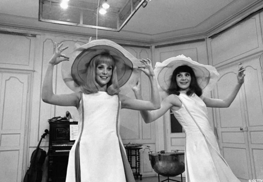 Catherine et Françoise pour les Demoiselles de Rochefort