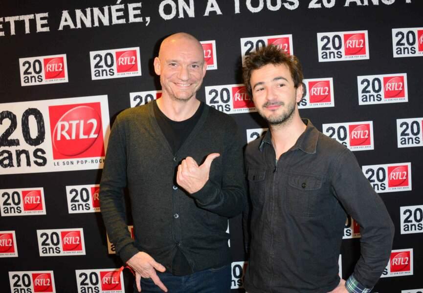 Gaetan Roussel et Renan Luce