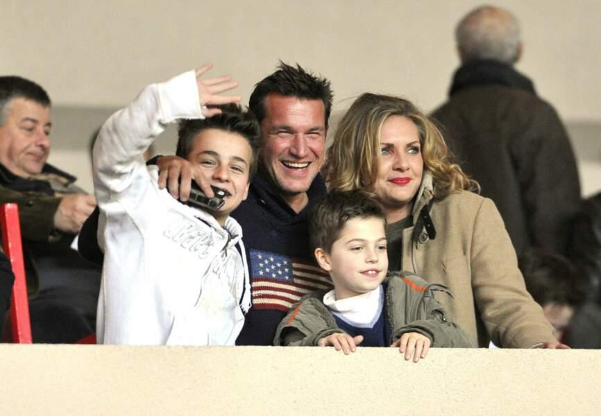 Benjamin Castaldi en famille