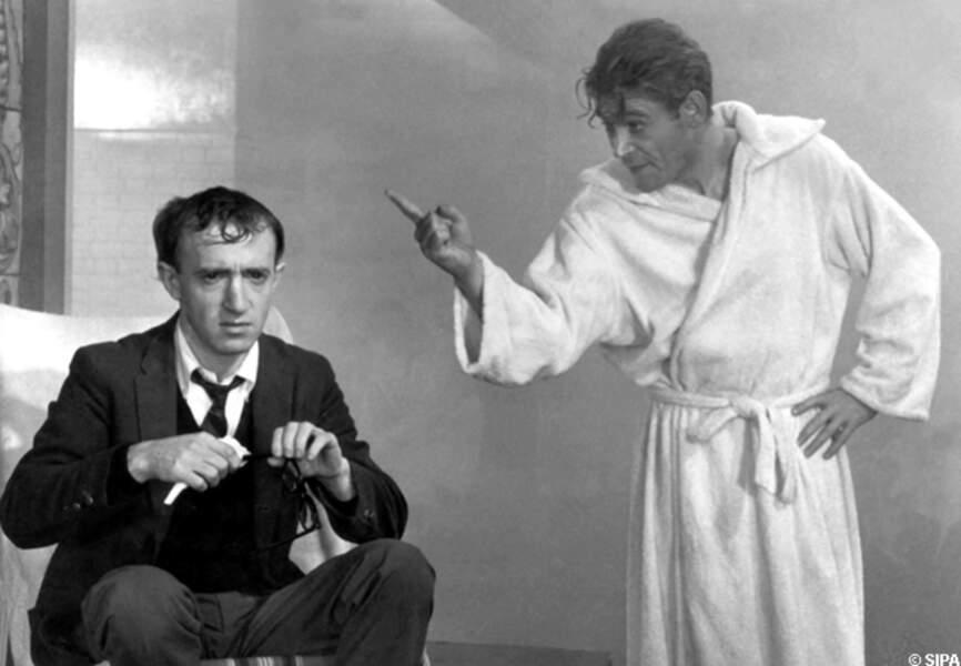 Peter O'Toole et Woody Allen dans Quoi de neuf Pussycat en 1965