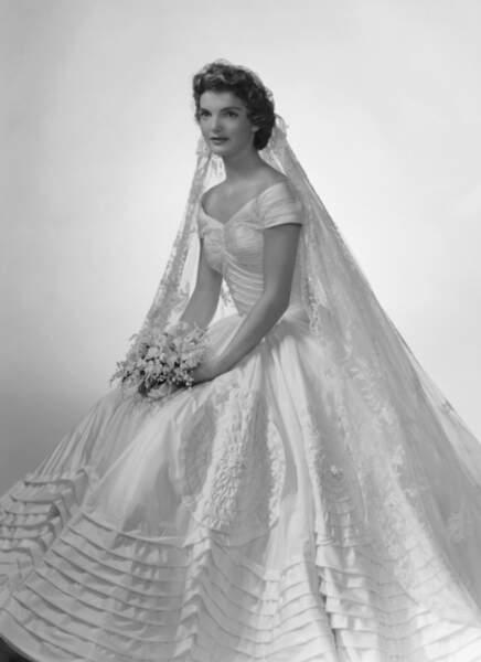 Son portrait de mariage en 1953